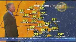 WBZ Morning Forecast For Sept. 21 [Video]