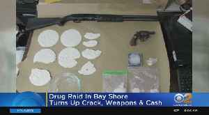 Drug Raid In Bay Shore Turns Up Cocaine, Weapons & Cash [Video]