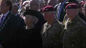 Mass parachute drop marks 75th anniversary of Arnhem operation [Video]