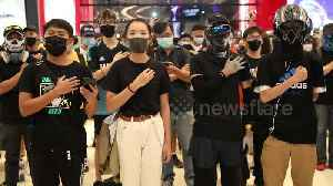 Hand on heart: Hong Kongers sing protest anthem in Yuen Long mall [Video]