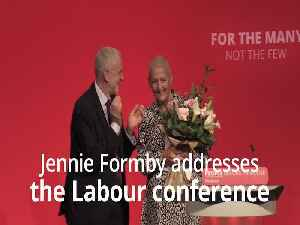 Jennie Formby makes emotional speech at Labour Party Conference [Video]