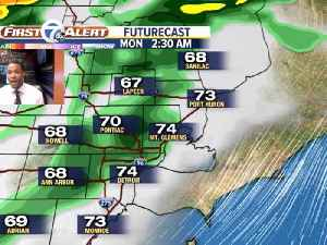 Showers and storms moving through [Video]