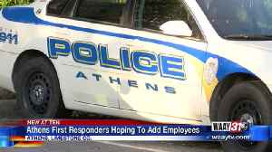Athens first responders hoping to add employees [Video]