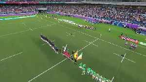 News video: Scotland's First National Anthem at Rugby World Cup 2019