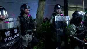 Hong Kong police detain pro-democracy protesters [Video]