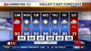 Valley highs return to 90s for the last day of summer [Video]