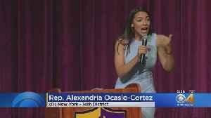Hundreds Gather In Boulder To Hear Congresswoman Alexandria Ocasio-Cortez [Video]