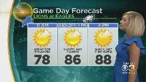 Philadelphia Weather: Toasty Eagles Forecast [Video]