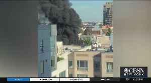 2-Alarm Fire In Williamsburg [Video]