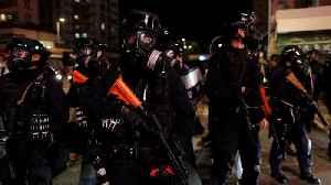 Police in Hong Kong fire tear gas at anti-government protesters [Video]