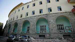 News video: Albania earthquake: Magnitude 5.6 tremor felt in capital Tirana