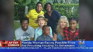 Florida Woman Facing Possible HOA Fines For Providing Housing To Bahamians [Video]