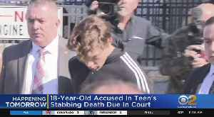 18-Year-Old Accused In Teen's Stabbing Death Due In Court [Video]