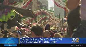 Sunday Is The Last Day Of Feast Of San Gennaro In Little Italy [Video]