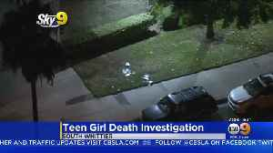 16-Year-Old Girl Found Dead On Front Lawn Of Whittier Apartment Complex [Video]
