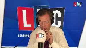 Jewish Caller Tells Nigel Farage About Community's Fears At Labour Party Conference [Video]