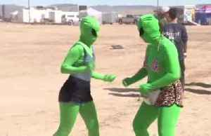 Celebrating Alienstock at Area 51 [Video]