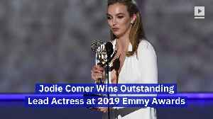 Jodie Comer Wins Outstanding Lead Actress at 2019 Emmy Awards [Video]