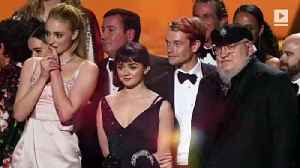 News video: 'Game of Thrones' Wins Outstanding Drama Series at 2019 Emmy Awards
