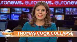 Thomas Cook collapses, stranding 600,000 holidaymakers around the globe [Video]