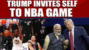 Howdy Modi event: Trump invites himself to NBA game in India |OneIndia News [Video]