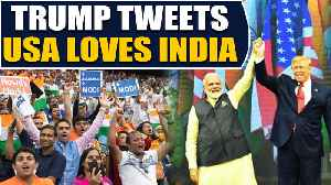 Trump tweets gratitude for love received at Howdy Modi event | OneIndia News [Video]