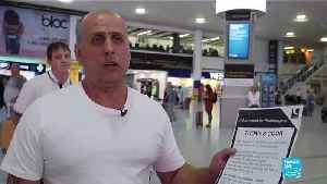 """Thomas Cook collapse: """"We found out today, there was no communication about it,"""" says traveller [Video]"""