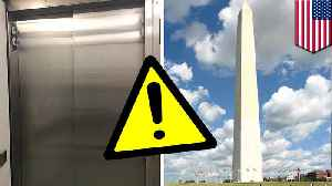 News video: Washington Monument lift breaks down days after reopening