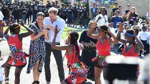 Prince Harry, Meghan And Archie Arrive In Cape Town [Video]