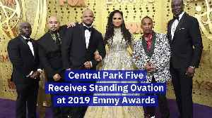 Central Park Five Receives Standing Ovation at 2019 Emmy Awards [Video]