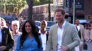 Prince Harry and Meghan Markle visit South Africa with Archie, who gets new African name [Video]