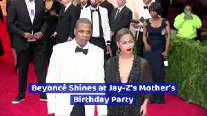 Beyoncé Shines at Jay-Z's Mother's Birthday Party [Video]