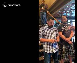 Heartwarming scene as US-based brothers reunite with father from Mexico after TWENTY years [Video]
