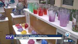 Downtown Craft Festival held in Delray Beach [Video]