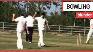 Hilarious moment former England captain Alastair Cook loses his temper in cricket match [Video]