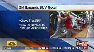 GM expands recall of Chevy Trax SUV due to faulty suspension [Video]