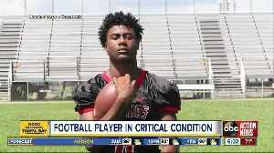 Family, friends praying for Northeast High football player in ICU [Video]