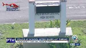Police keep an extra eye on Palm Beach Central High [Video]