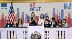 Melania Trump rings opening bell of NYSE ahead of Trump's UN appearance [Video]