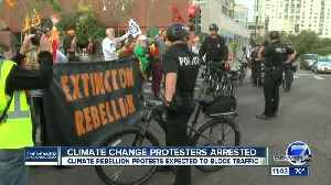 Five people arrested during climate change protest Monday in Denver [Video]