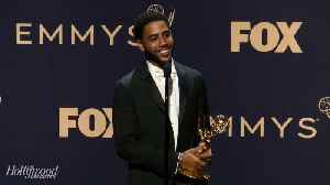 Jharrel Jerome Talks Lead Actor in a Limited Series or Movie Win For 'When They See Us' | Emmys 2019 [Video]