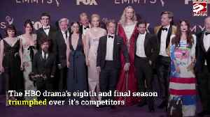 News video: Game of Thrones wins Outstanding Drama Emmy