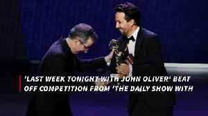 John Oliver wins Emmy for fourth year [Video]