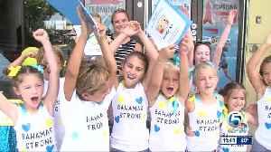 Kids help Dorian storm victims [Video]