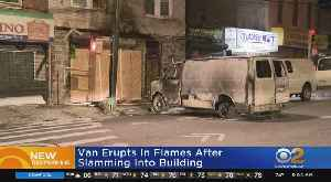 Man Crashes Van Into Building Where Ex-Wife Lives [Video]