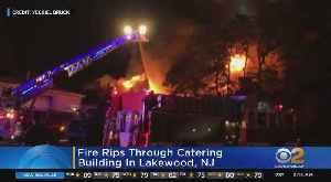 Catering Building Catches Fire In Lakewood, N.J. [Video]