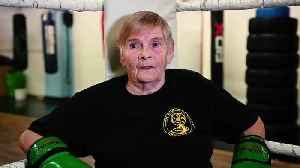 Meet the 76-year-old female kickboxer [Video]