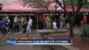 """We love our sports"": Wisconsin fans celebrate winning weekend [Video]"