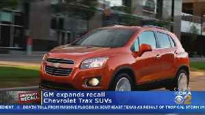 GM Expands Chevy Trax SUV Recall [Video]