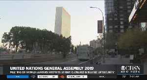 United Nations General Assembly Gets Underway [Video]